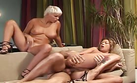 Alyson Ray and Caroline Eden threesome anal and fist fuck