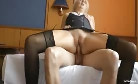 Dutch mom fucking with a cute young guy
