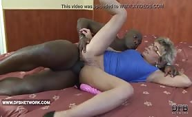 Granny   wants to fuck a big black cock