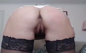 Milf brunette anal hairy pussy masturbate