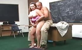 Perfect big tits teacher