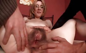 Fuck   very hairy pussy and anal