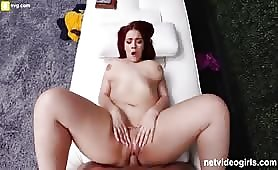 Redhead PAWG Creampied During Calendar Audition