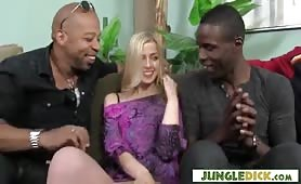 Euro Tourist Abigaile Johnson Gangbanged by BBCs